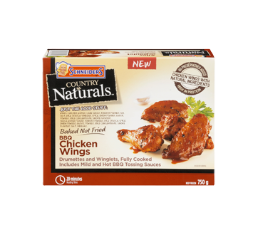 Country Naturals Chicken Wings, 750 g, BBQ