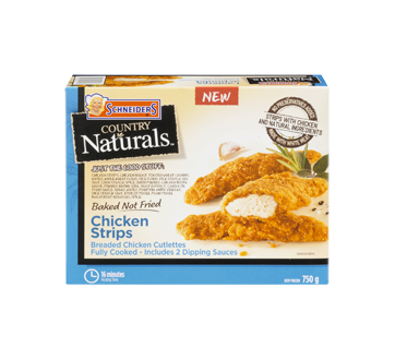 Image of product Schneiders - Country Naturals Chicken Strips, 750 g