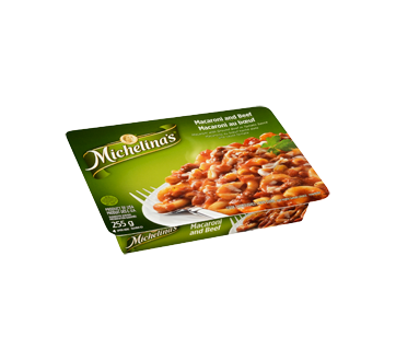 Image 2 of product Michelina's - Macaroni and Beef, 255 g