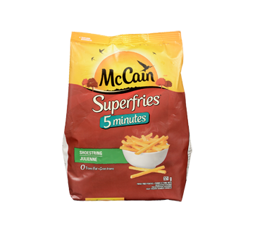Superquick 5 Minutes Fries, 12 x 650 g