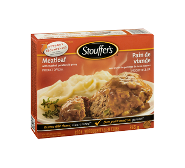 Image 2 of product Stouffer's - Meatloaf, 263 g