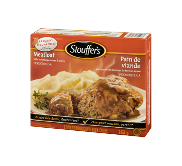Image 3 of product Stouffer's - Meatloaf, 263 g