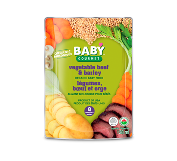 Vegetable Beef & Barley, 128 ml