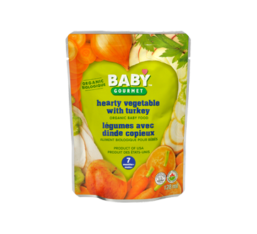 Hearty Vegetables with Turkey, 128 ml