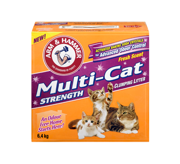 Image 3 of product Arm & Hammer - Multi-Cat Clumping Cat Litter, 6.4 kg, Multi-Cat