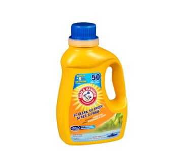 Image 2 of product Arm & Hammer - Laundry Detergent Liquid for Cold Water, 2.21 L, Fresh scent