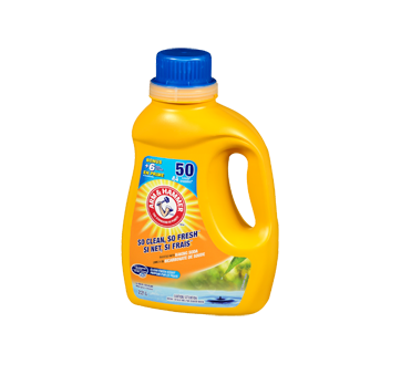 Image 3 of product Arm & Hammer - Laundry Detergent Liquid for Cold Water, 2.21 L, Fresh scent