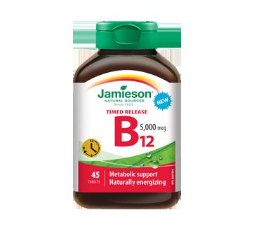 Image of product Jamieson - Vitamin B12 5000 mcg Methylcobalamin Timed Release, 45 units