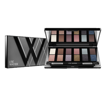 Image of product Lise Watier - Smokey Nude Palette 12-Colour Eyeshadow Palette, 12 g