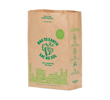 Small Food Waste Bags, 10 units