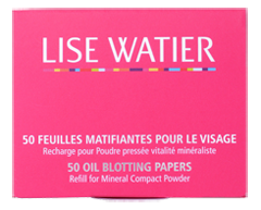 Image of product Lise Watier - Oil Blotting Papers, 50 units
