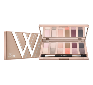 Image of product Lise Watier - Rose Nudes Eyeshadow Palette, 12 g