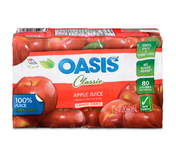 Image of product Oasis - Apple From Concentrate Juice, 8 x 200 ml