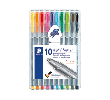 Image of product Staedtler - Triplus Fineliner Porous Point Pens, 10 units