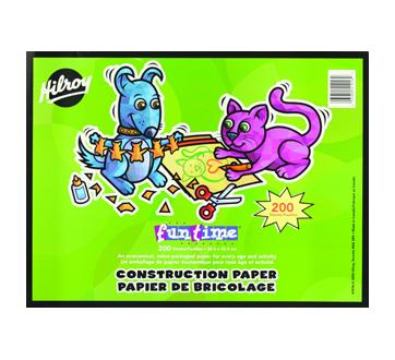FunTime Construction Paper, 1 unit