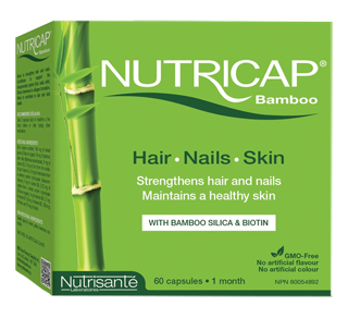 Bamboo Hair, Nails and skin, 60 units
