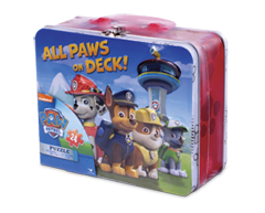 Image of product Paw Patrol - Paw Patrol Puzzle in a Tin