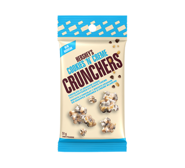 Image of product Hershey's - Hershey's Cookies 'N Creme Crunchers, 51 g