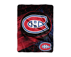 Image of product NHL - Montreal Canadiens Micro Raschel Blanket, 1 unit