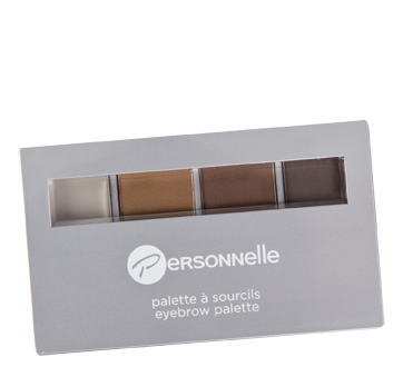 Image 1 of product Personnelle Cosmetics - Eyebrow Palette, 3x1.1 g, Universal