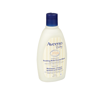 Image 2 of product Aveeno Baby - Soothing Relief Creamy Wash,, 354 ml