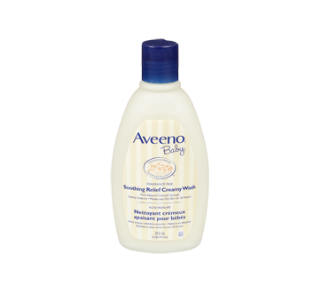 Image 3 of product Aveeno Baby - Soothing Relief Creamy Wash,, 354 ml