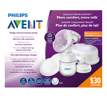 Image 1 of product Avent - Single Electric Breast Pump, 1 unit