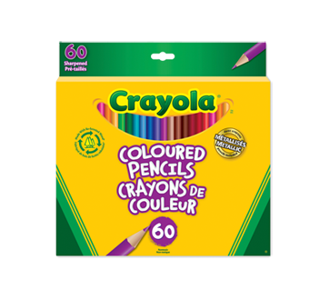 Coloured Pencils, 60 units