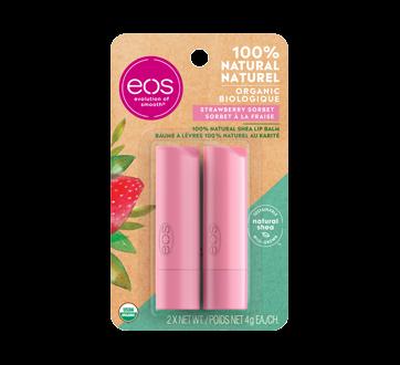 Smooth Stick Lip Balm, 2 x 4 g, Strawberry