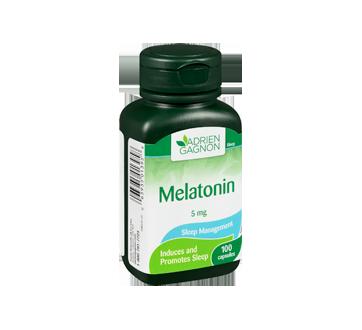 Image 2 of product Adrien Gagnon - Melatonin 5 mg, 100 units