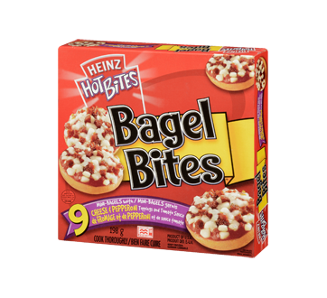 Image 3 of product Heinz - Bagel Bites Pepperoni and Cheese, 198 g