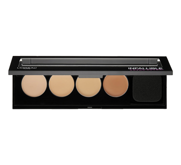Infallible Total Cover Concealing & Contour Kit , 5 g