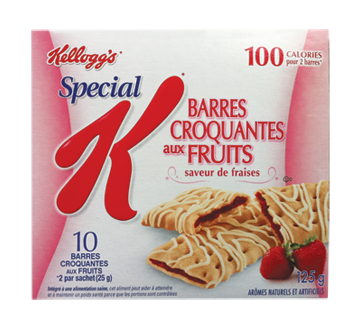 Image of product Kellogg's - Special K Strawberry Fruit Crisps, 125 g
