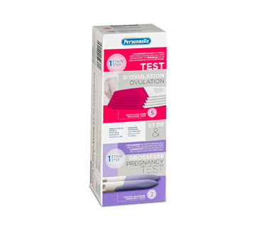 Image of product Personnelle - Ovulation Test and Pregnancy Test, 5 + 2 units