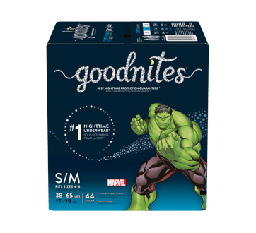 Goodnites Bedwetting Underwear for Boys, 44 units, Small-Medium