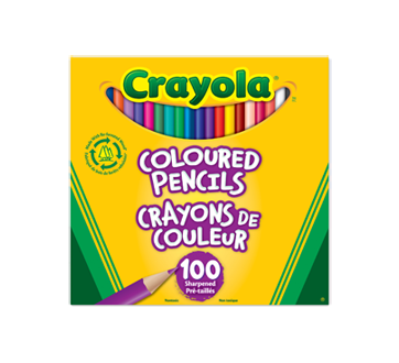 Coloured Pencils, 100 units