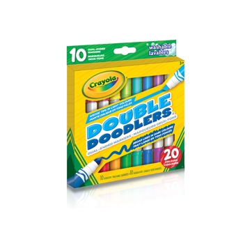 Double Doodlers Markers, 10 units