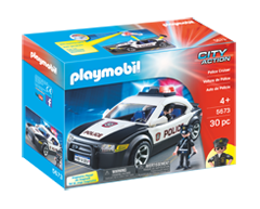 Image of product Playmobil - Police Cruiser Play Set, 1 unit