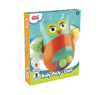 Rolly Poly-Owl, 1 unit