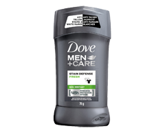 Image of product Dove Men + Care - Stain Defense Fresh Antiperspirant Stick, 76 g
