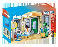 Image of product Playmobil - Hospital Play Box, 1 unit
