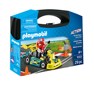 Image of product Playmobil - Go Kart Carry Case S, 1 unit