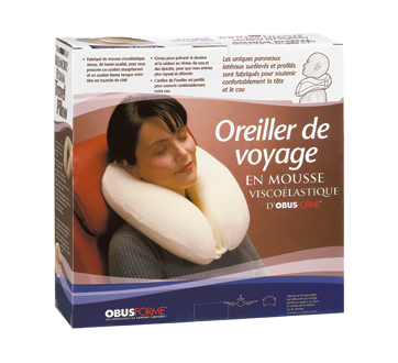 Image of product ObusForme - Memory Foam Travel Pillow, 1 unit