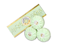 Image of product Roger&Gallet - Green Tea Perfumed Soap, Set of Soaps 3 x 100g, 300 g