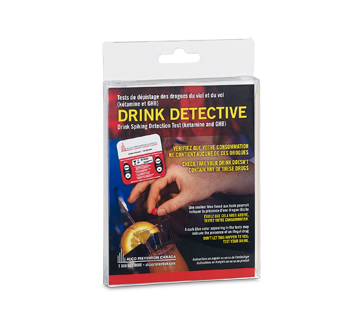 Image of product Alco Prévention Canada - Drink Detective Drink Spiking Detection Test, 1 unit