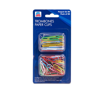 Paper Clips, 80 units