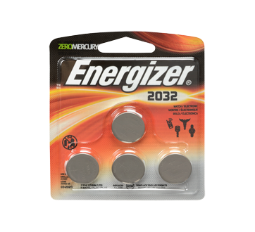 Specialty Batteries, 4 units, 2032BP4