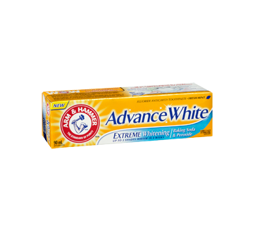 Image 2 of product Arm & Hammer - Advance White Toothpaste, 90 ml, Fresh Mint