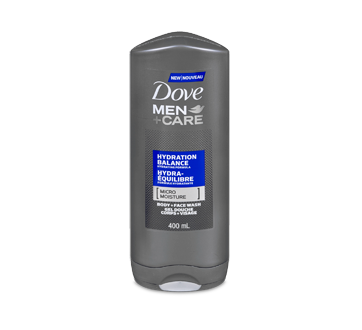 Image of product Dove Men + Care - Hydration Balance Body Wash, 400 ml