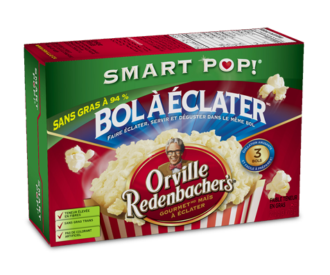 Pop up bowl smart pop 3 x 70 g orville redenbacher s